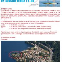 RITROVO SOCIALE 5 GIUGNO 2016: PADDLE & GRIGLIA!